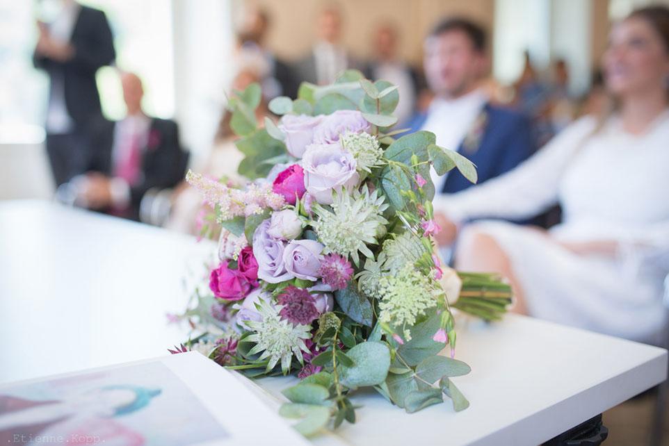 Bouquet mariage Franche Comté