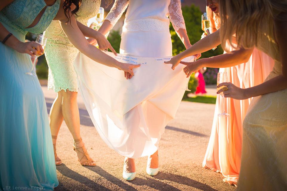 Robe de la mariée Franche Comté