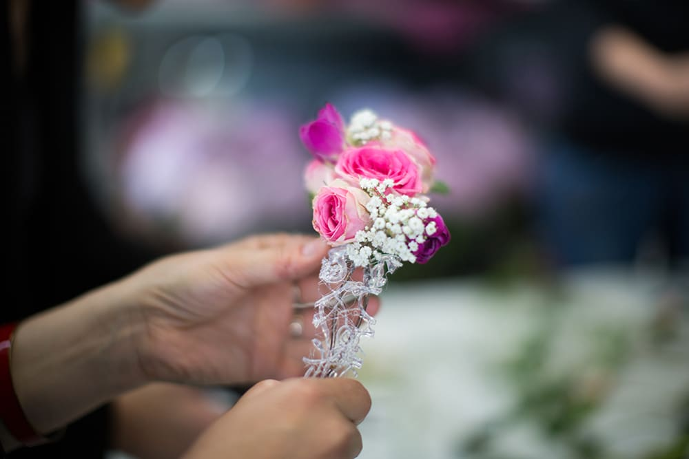 Couronne florale EVJF Sonia