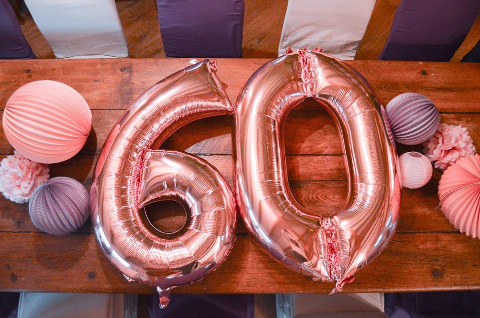 Organisation anniversaire 60 ans